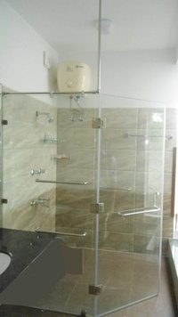 Shower Cubicles Openable Door Glazing