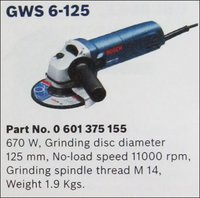 Angle Grinders (Gws 6-125)