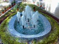 Foam Water Fountain