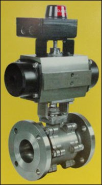 Metal Seated Ball Valve With Position Indicator