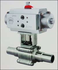 Orbital Weld Ball Valve With Actuator