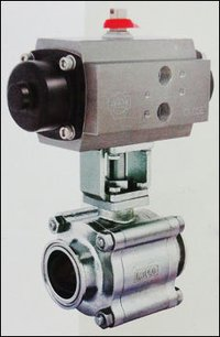 Tc End Ball Valve With Actuator