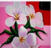 Kids Room Flower Wall Painting