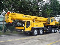 Mobile Telescopic Cranes Rental Services