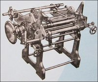 Single Shaft Slitting-Cum-Rewinding Machine