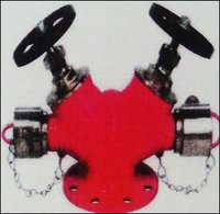 Double Headed Landing Valve