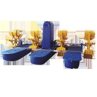 Multi-Impeller Paddlewheel Aerator Floating Aerator Aquaculture Air Pump