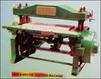610 And 650 Die Cutting Machine