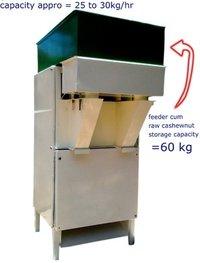 Automatic Cashew Nut Shell Cutting Machine