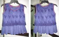 Ladies Sleeveless Designer Top