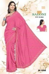 Plain Fancy Saree