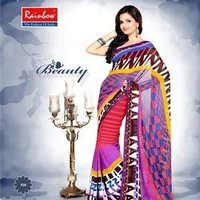 Party Wear Female Fancy Saree