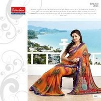 Ladies Designer Printed Saree