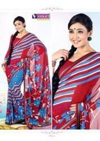 Modern Printed Cotton Saree