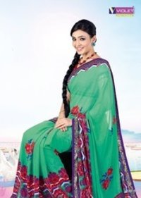 Printed Designer Cotton Saree