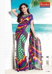Modern Georgette Saree