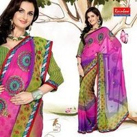 Designer Female Party Wear Saree
