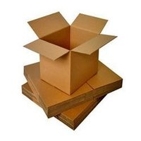 Brown Paper Corrugated Boxes