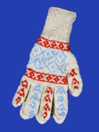 Designer Knitted Gloves