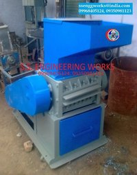 Plastic Waste Cutter Grinder Machine
