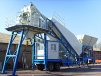 Mobile Concrete Mixing Plant (UTM-50)