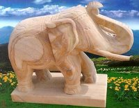 Attractive Elephant Stone Statues