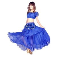 Belly Dance Dancing Costumes Set