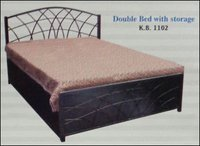 Double Bed With Storage (K B 1102)