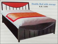 Double Bed With Storage (K B 1105)