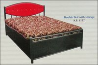 Double Bed With Storage (K B 1107)