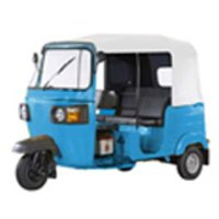 Blue Color Three Wheeler