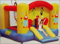 Clown Hoop Bouncer (Gki-9201)