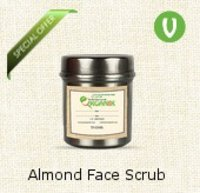 Almond Face Scrub