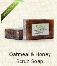 Oatmeal And Honey Scrub Soap