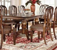 Traditional Buffet Dining Table With Chairs