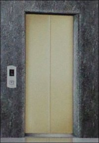 Ms Powder Coated Center Opening Automatic Elevator Door Panels