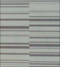 Barcode White Silver Flooring
