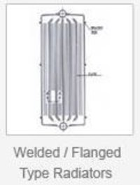 Welded And Flanged Type Radiators