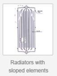 Radiators With Stopped Elements