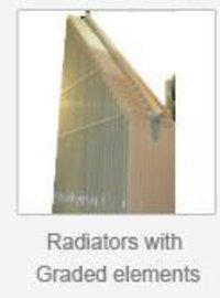 Radiators With Graded Elements