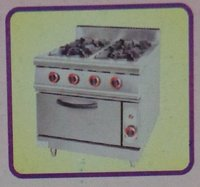 Two Burner Gas Range With Oven