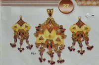 Paper Antique Pendant Set