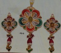 Magnificent Paper Antique Pendant Set