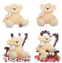 5 Feet Peach Teddy Bear