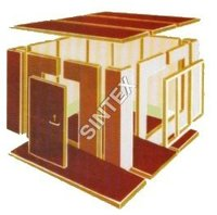 Discontinuous Sandwich Panels