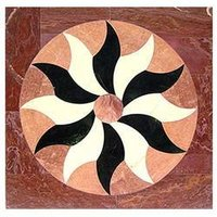 Square Marble Flooring