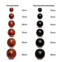 Ebony And Rosewood Beads