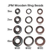 Wooden Ring Beads