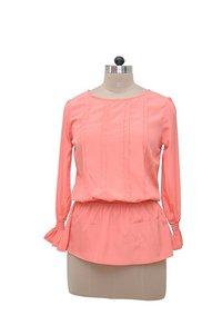 Orange Color Full Sleeves Shirt