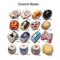 Twisted Ceramic Beads